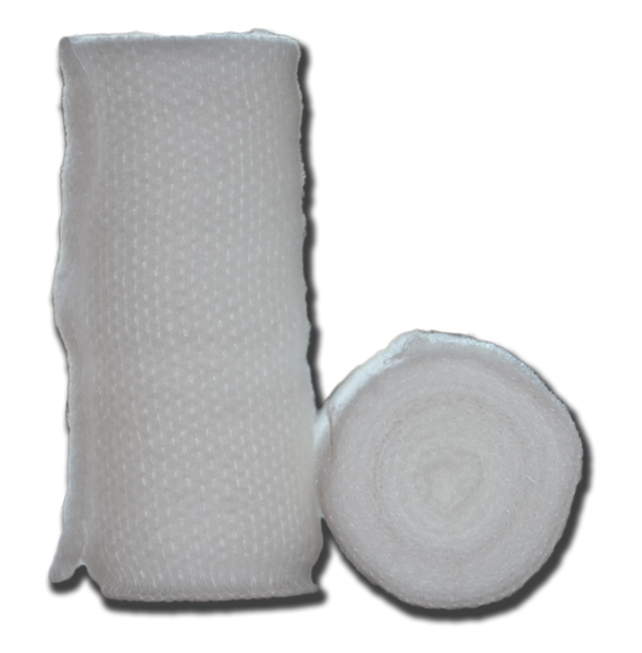 Bandaging:  Rolled White Gauze