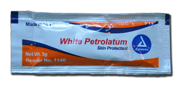 White Petrolium Jel Packets