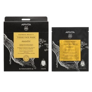 Apivita Tissue Face Mask Mastic Firming & Lifting Effect