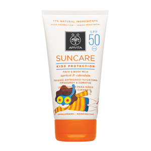 Apivita Kids Protection Face & Body SPF 50 - High Protection