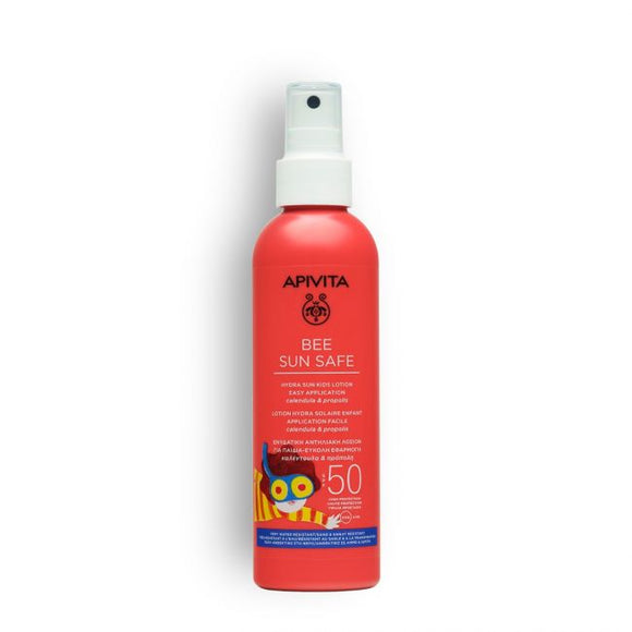 Apivita Sun Kids Lotion - Easy Application SPF50, 200ml