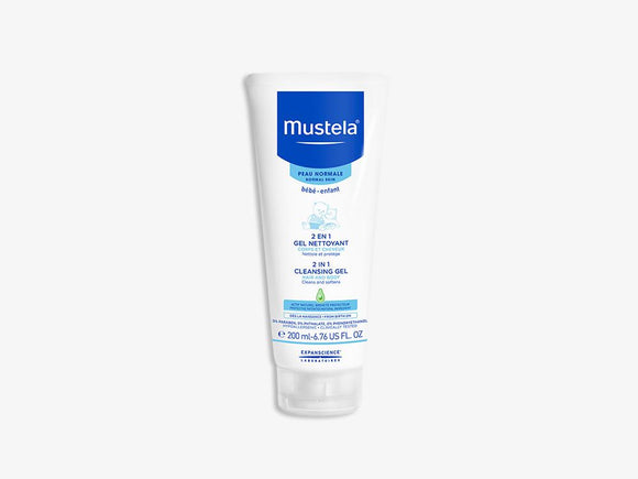 Mustela Cleansing Gel Hair & Body 200ml