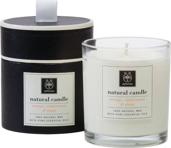 Apivita Natural Candle Orange