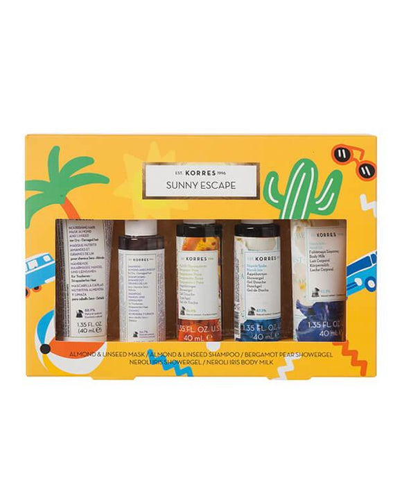 Korres Sunny Escape Gift Set - 5 x 40ml