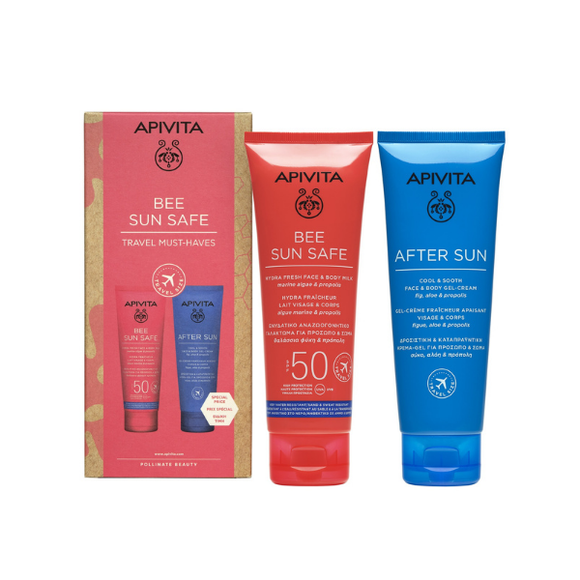 Apivita BEE SUN SAFE Travel Must-Haves