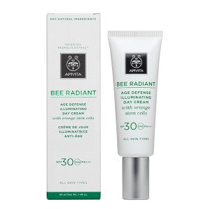 Apivita Bee Radiant Age Defense Illuminating Day Cream SPF30, 40ml