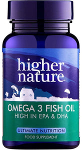 Higher Nature Omega 3, 1000mg, 90 Capsules