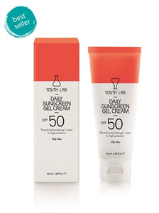 Youth Lab - Daily Sunscreen Gel Cream SPF 50 (Oily Skin) 50ml
