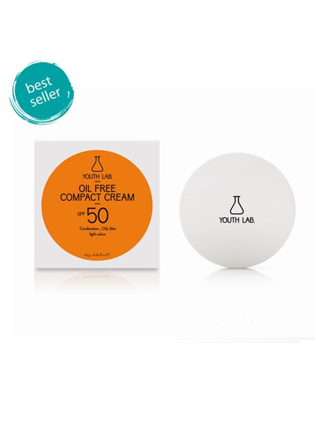 Youth Lab - Oil Free Compact Cream SPF 50 (Combination / Oily Skin - Light Color) 10g