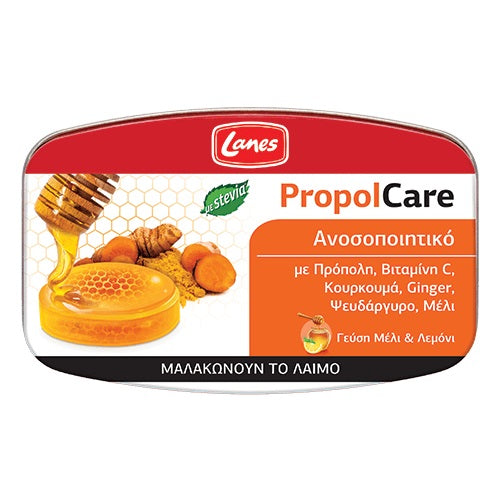 Lanes PropolCare Pastilles with Honey & Lemon