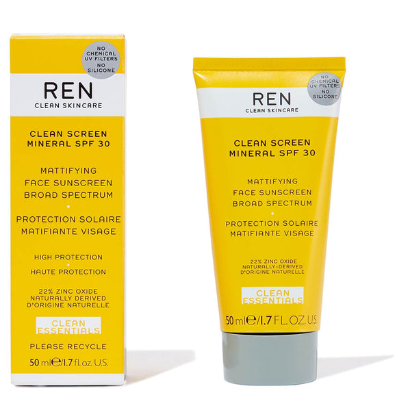 REN - Clean Screen Mineral SPF 30 50ml