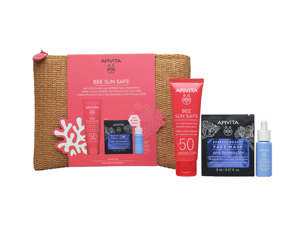 Apivita Anti-Spot & Anti-Age Defense Cream SPF50+ Gift Set