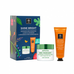Apivita Shine Bright Gift Set