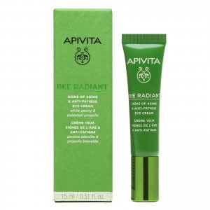 Apivita Bee Radiant Signs of Aging & Anti-Fatigue Eye Cream 15ml