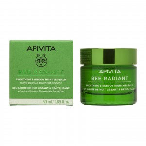 Apivita Bee Radiant Smoothing & Reboot Night Gel-Cream 50ml