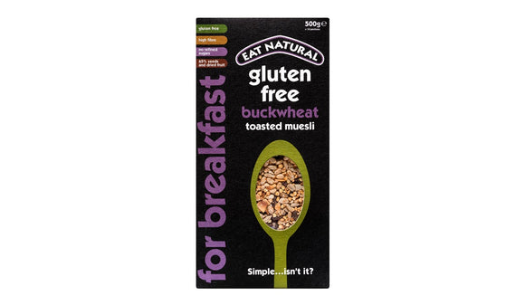Eat Natural Buckwheat Toasted Muesli 500g