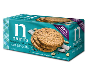 Nairn's Coconut & Chia Oats Biscuit 200g