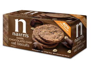 Nairn's Dark Chocolate Chip Oats Biscuit 200g