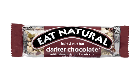 Eat Natural Dark 70& Chocolate Brazil Nuts & Apricots 45g