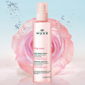 Nuxe Very Rose Refreshing Toning Mist Spray Bottle 200ml