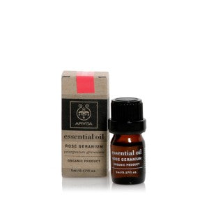 Apivita Geranium Essential Oil 5ml