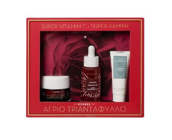 Korres Wild Rose Super Vitamin C Gift Set
