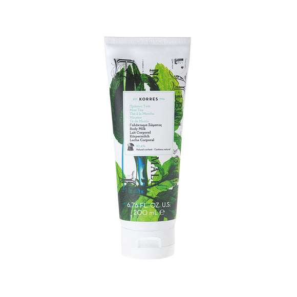 Korres Mint Tea Body Milk 200ml