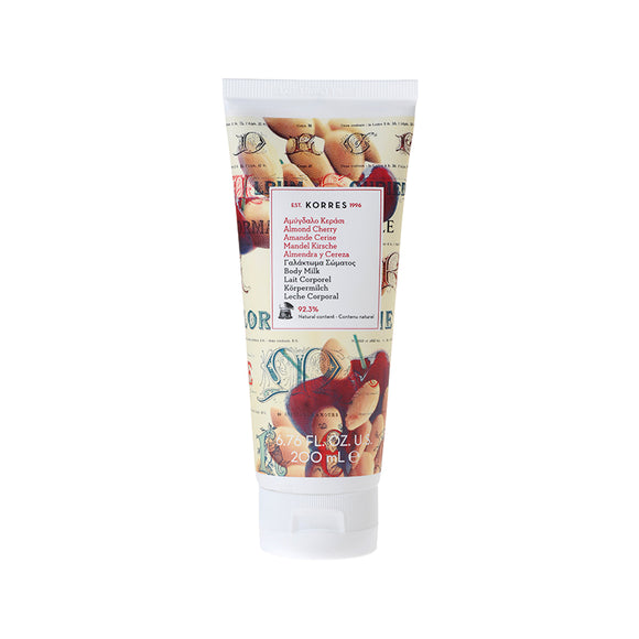 Korres Almond Cherry Body Milk 200ml