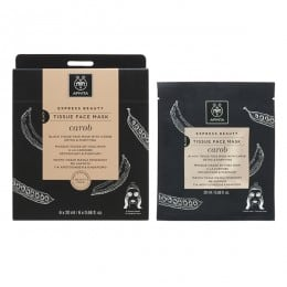 Apivita Black Tissue Face Mask Detox & Purifying