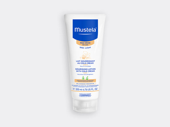 Mustela Nourishing Lotion with Cold Cream and Beeswax 200ml