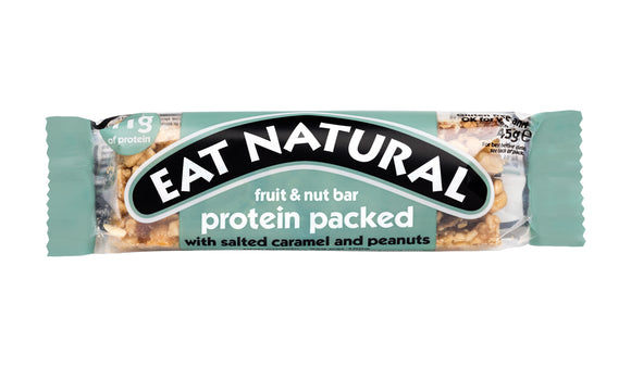 Eat Natural Protein Bar with Salted Caramel and Peanuts 45g