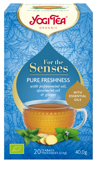 YOGI TEA - FOR THE SENSES (PURE FRESHNESS)