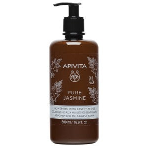 Apivita Pure Jasmine Shower Gel 500ml