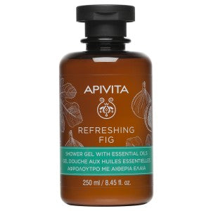 Apivita Refreshing Fig Shower Gel 300ml