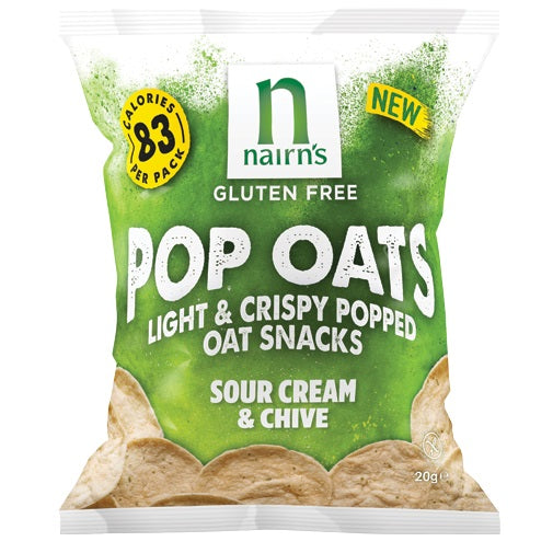 Nairn's Sour Cream & Chive Pop Oats 20g
