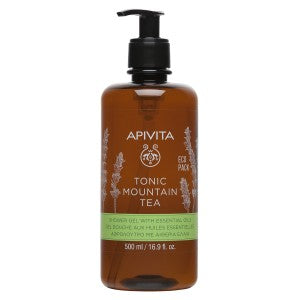 Apivita Tonic Mountain Tree Shower Gel 500ml