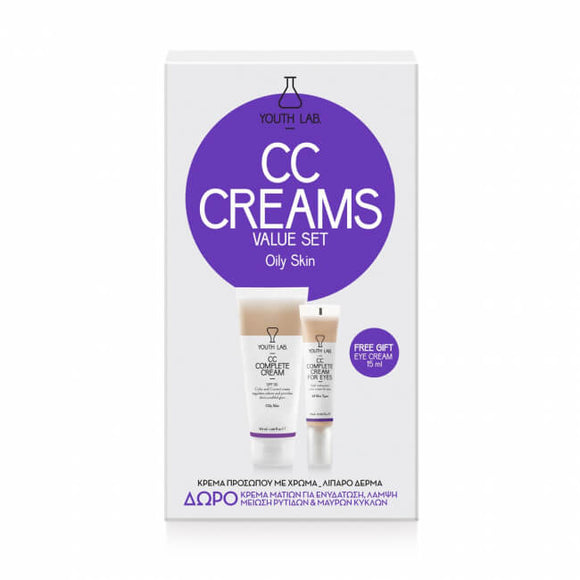 Youth Lab - CC Cream Value Set (Oily Skin)