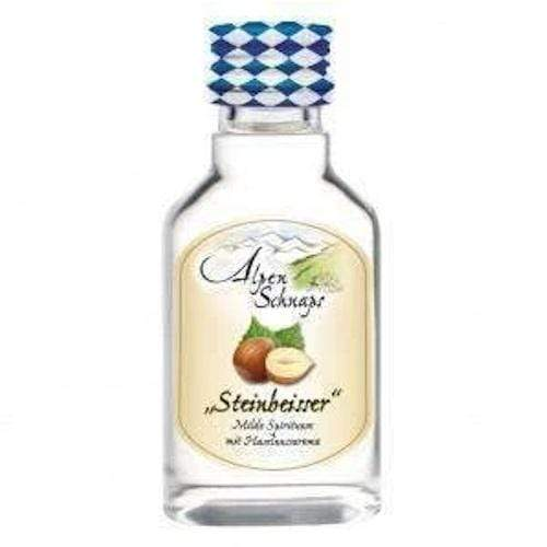 AlpenSchnaps Steinbeisser Haselnuss (Hazelnut) Miniature - 20ml