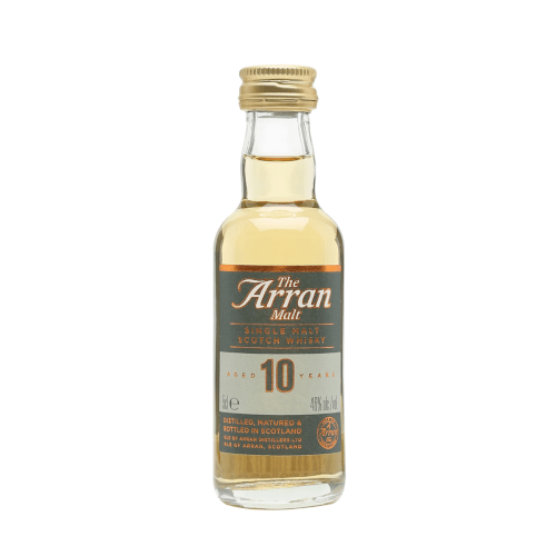 Arran 10 yr Single Malt Scotch Whisky Miniature - 50ml