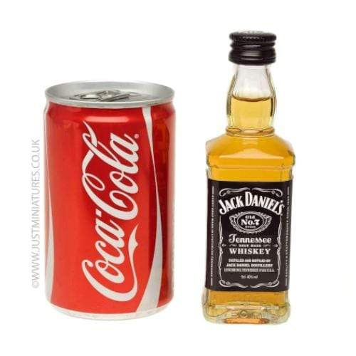 Jack Daniels Whiskey & Coke Set (Miniature & Mini Can Set)