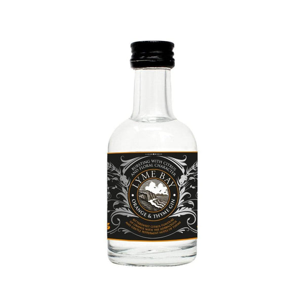 Lyme Bay Orange & Thyme Gin Miniature - 50ml