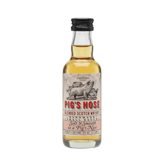 Pigs Nose Blended Scotch Whisky Miniature - 50ml