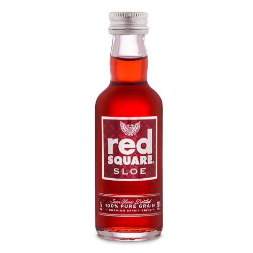 Red Square Sloe Vodka Miniature - 50ml