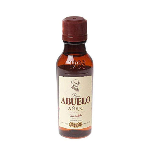 Ron Abuelo Anejo Rum Miniature - 5cl - Just Miniatures