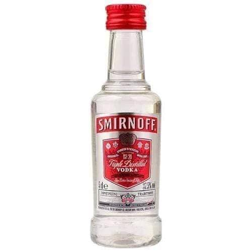Smirnoff Red Label Vodka Miniature - 50ml