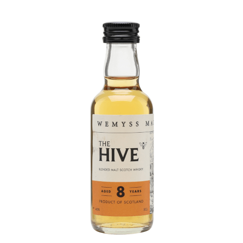 The Hive 8 year Blended Malt Scotch Whisky Miniature - 50ml