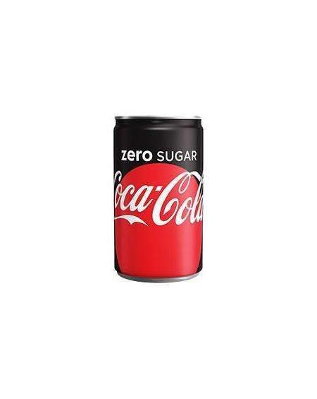 Just Miniatures:Coke Zero Sugar Mini Can (150ml) - 24 Pack