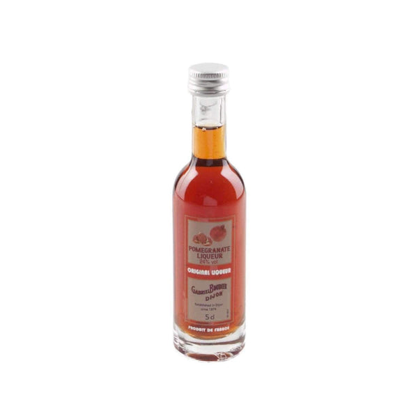 Just Miniatures:Gabriel Boudier Pomegranate Liqueur Miniature - 5cl,Miniature Drinks
