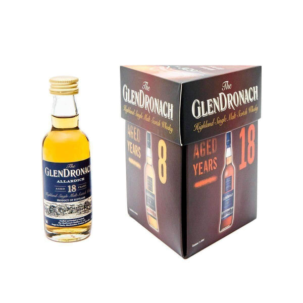 Just Miniatures:Glendronach Single Malt Scotch Whisky Miniature Gift Set - 3 x 5cl