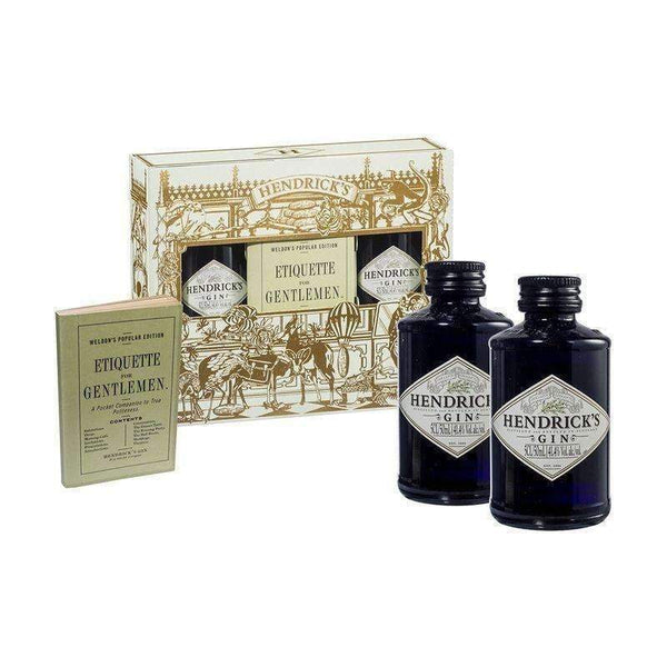 Just Miniatures:Hendricks Lovers Miniature Gift Pack - 2 x 5cl